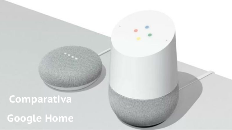 Comparamos Google home y mini