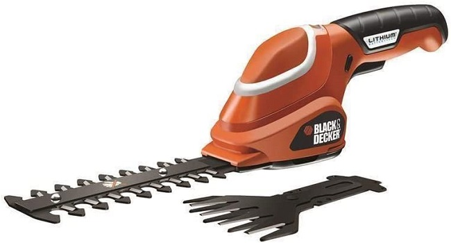 descripcion cortasetos black decker