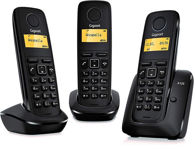 descripcion telefono gigaset trio