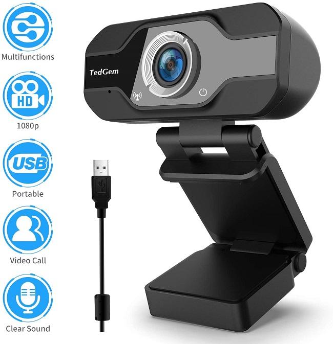 descripcion webcam tedgem